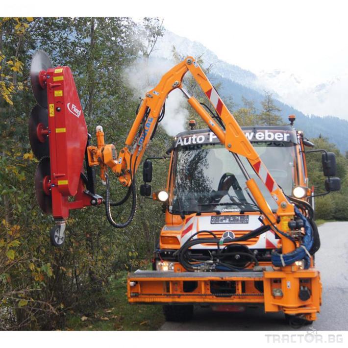 Техника за почистване Универсален храсторез от фирма Fliegl 9 - Трактор БГ