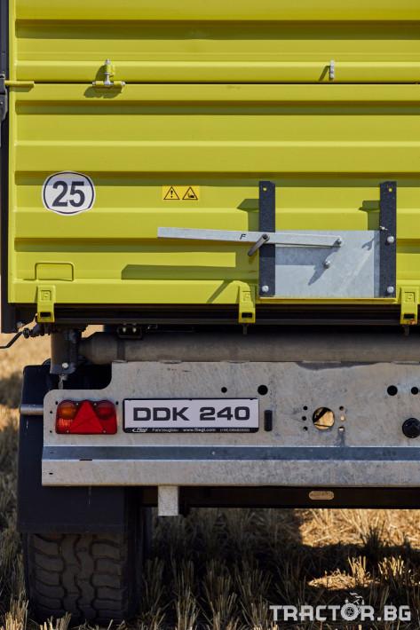 Ремаркета и цистерни Самосвално ремарке Флигел с тристранно разтоварване триосно 24 тона 5 - Трактор БГ