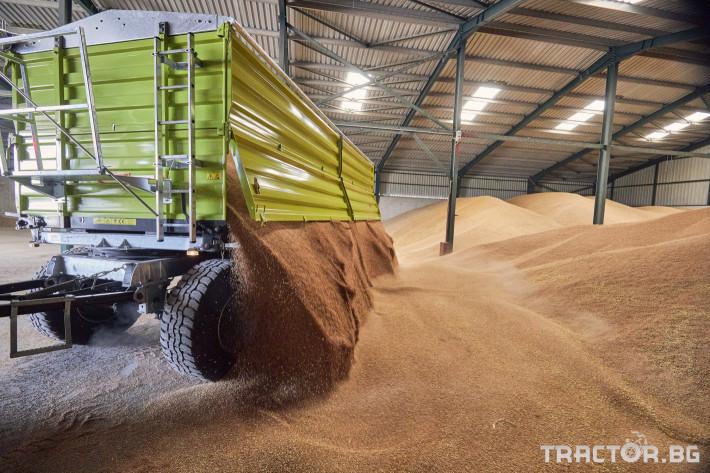 Ремаркета и цистерни Самосвално ремарке Флигел с тристранно разтоварване триосно 24 тона 7 - Трактор БГ