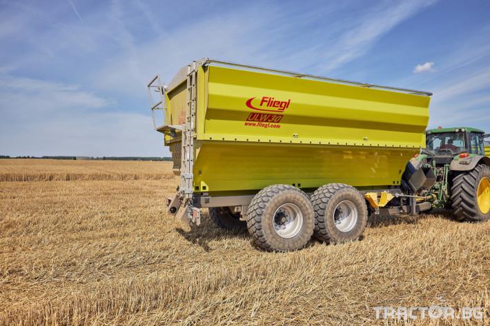 Ремаркета и цистерни Претоварващо ремарке Флигел с обем 30 куб.м. 0 - Трактор БГ