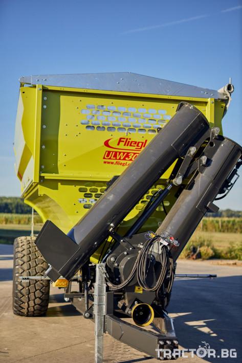 Ремаркета и цистерни Претоварващо ремарке Флигел с обем 30 куб.м. 2 - Трактор БГ