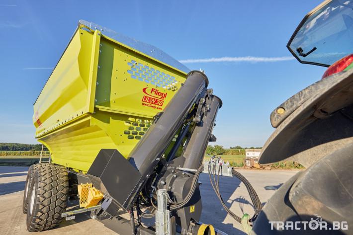 Ремаркета и цистерни Претоварващо ремарке Флигел с обем 30 куб.м. 3 - Трактор БГ