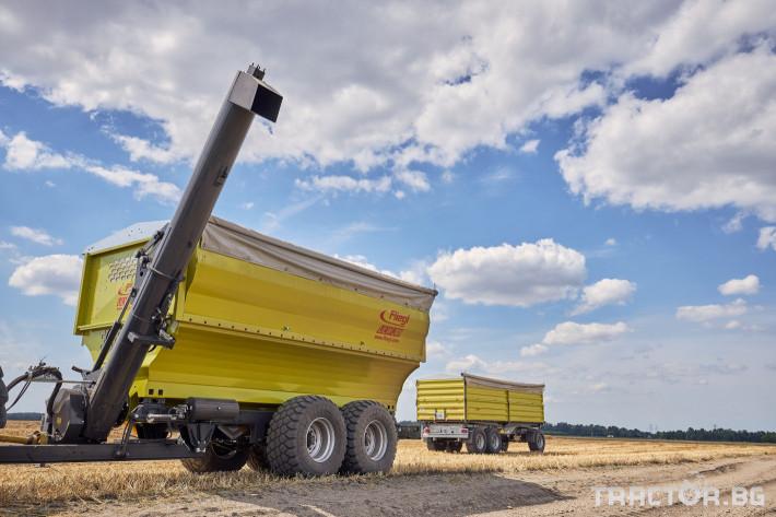 Ремаркета и цистерни Претоварващо ремарке Флигел с обем 30 куб.м. 6 - Трактор БГ