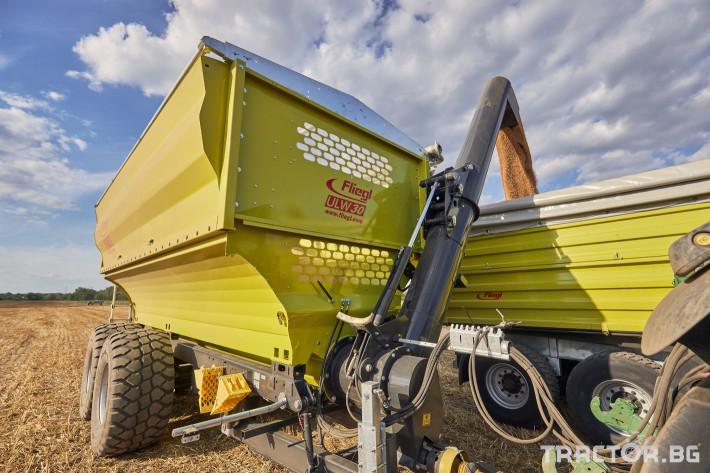 Ремаркета и цистерни Претоварващо ремарке Флигел с обем 30 куб.м. 7 - Трактор БГ