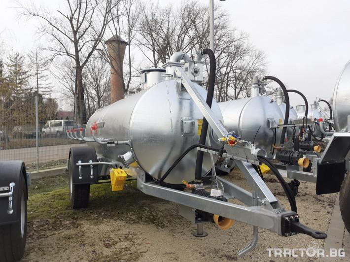 Ремаркета и цистерни Вакуумна цистерна Флигел 6200 литра 0 - Трактор БГ