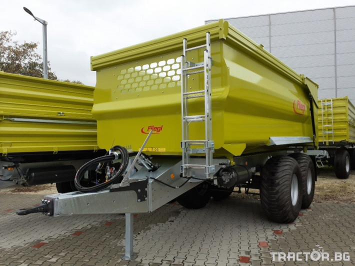Ремаркета и цистерни Самосвално ремарке Fliegl 16 тона 0 - Трактор БГ