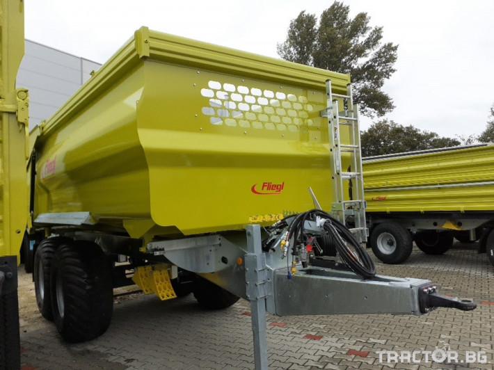 Ремаркета и цистерни Самосвално ремарке Fliegl 16 тона 1 - Трактор БГ