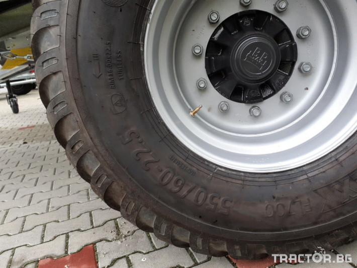 Ремаркета и цистерни Самосвално ремарке Fliegl 16 тона 4 - Трактор БГ