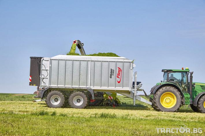Ремаркета и цистерни Ремарке Флигел с хидравлично избутваща челна стена 2 - Трактор БГ