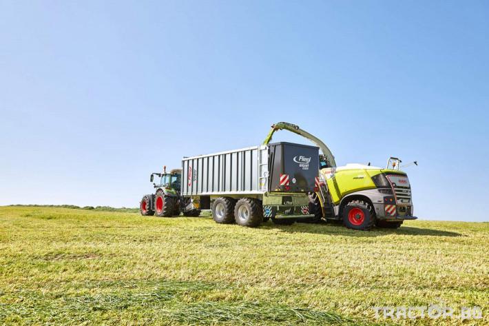 Ремаркета и цистерни Ремарке Флигел с хидравлично избутваща челна стена 4 - Трактор БГ