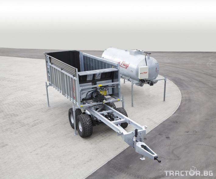 Ремаркета и цистерни Мулти система - ремарке и цистерна Fliegl в едно 0 - Трактор БГ