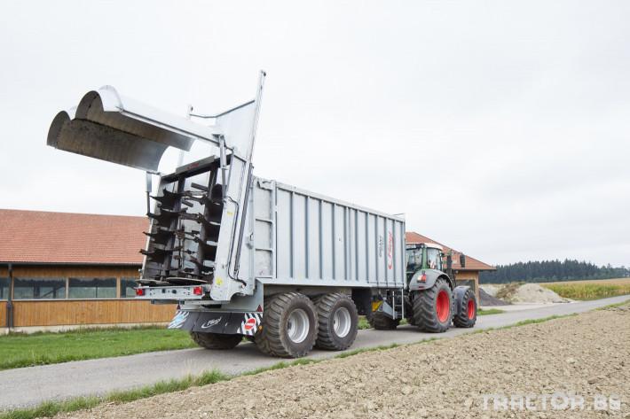 Ремаркета и цистерни Мулти система - ремарке и цистерна Fliegl в едно 3 - Трактор БГ