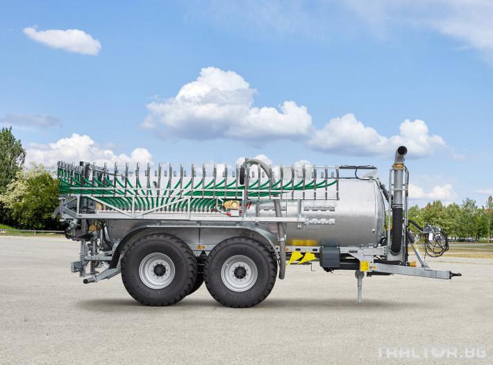Ремаркета и цистерни Мулти система - ремарке и цистерна Fliegl в едно 4 - Трактор БГ