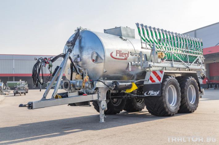 Ремаркета и цистерни Мулти система - ремарке и цистерна Fliegl в едно 5 - Трактор БГ