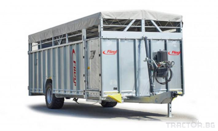 Ремаркета и цистерни Ремарке за превоз на живи животни 0 - Трактор БГ