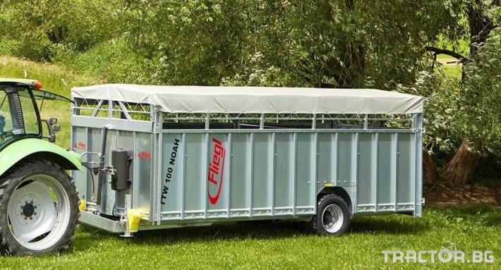 Ремаркета и цистерни Ремарке за превоз на живи животни 1 - Трактор БГ
